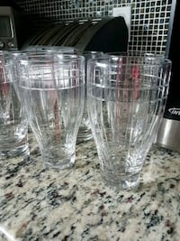 9 Tall glasses