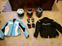 Motorcycle gear  Stafford Courthouse, 22554