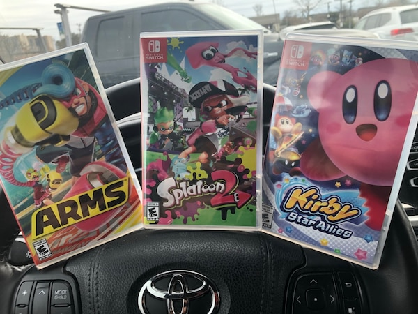 Unopened switch games