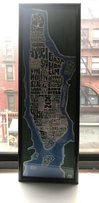 NYC map New York, 10013