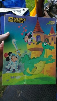 Vintage Disney Mickey Mouse puzzle