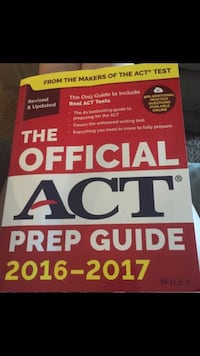 ACT Prep Guide 2016-2017 Miromar Lakes, 33913