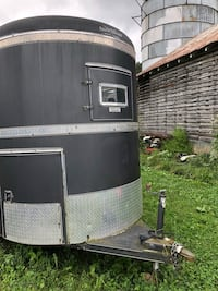 black and gray enclosed trailer Princeton, 24740