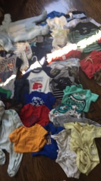 Newborn- 12 months clothes lots brand names nike baby gap children s place Toronto, M6L 2B4