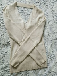 Cream Marciano Ribbed Sweater Toronto, M5V 2J2