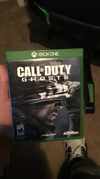 Call of duty ghosts xbox one game case San Angelo, 76904