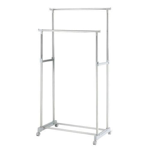 Double Garment Rack