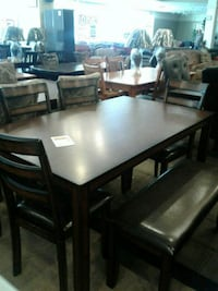 Dining Table with four chairs and bench Phoenix, 85018