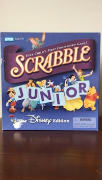 Scrabble Junior board game Oakville