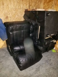 Three recliners chairs