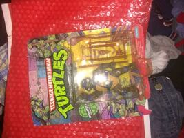 original from 1989 unpunched and unopened softhead Donatello