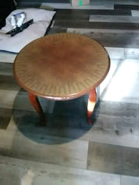 round brown wooden coffee table set of 3 Angus, L0M 1B3