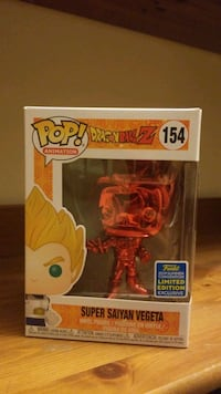 Super Saiyan Vegeta SDCC Red Chrome Fairfax, 22030