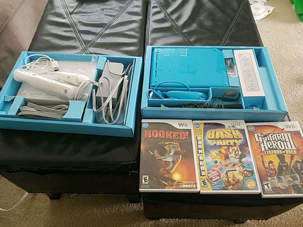 Blue Wii and Games