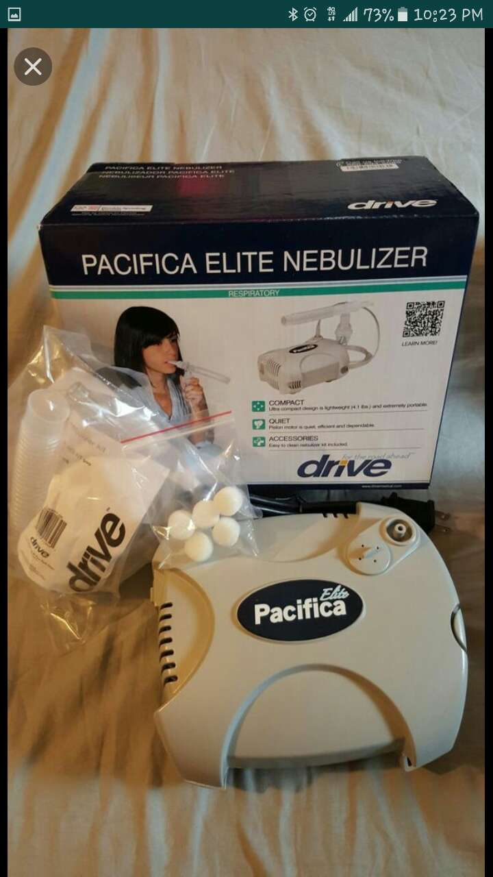 Used, pacifica elite nebulizer for sale  New York