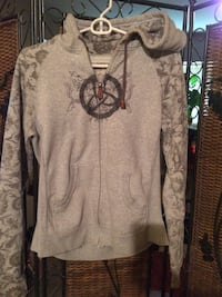 gray and black zip up  hoodie Kelowna, V1X 3M7