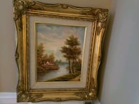 Beautiful painting with gold toned frame. 13x15. Putnam Valley, 10579