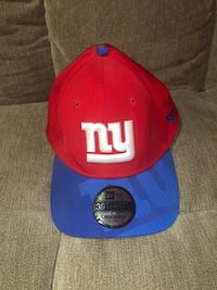 New York Giants fitted ball cap size Large-XLarge