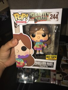 POP! Animation Gravity Falls 244 Mabelcorn Mabel vinyl figure package