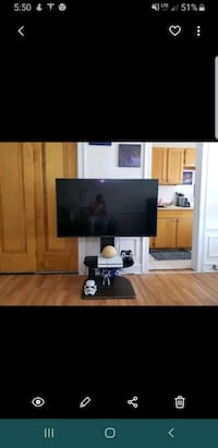 Samsung 50in 4k smart TV (all apps Netflix,hulu,Amazon,YouTube) Chicago, 60613