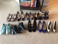 10 pairs Women's Shoes - Size 7 Vancouver