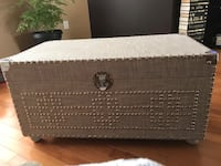 TRUNK IN EXCELLENT CONDITION. Light grey as shown  Winnipeg, R3P 2R5