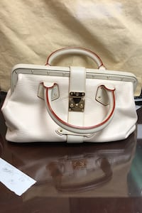 LOUIS VUITTON SUHALI INGENIEUX WHITE BAG Hicksville, 11801