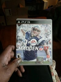 Madden NFL 17 PS3 game case Suitland, 20746