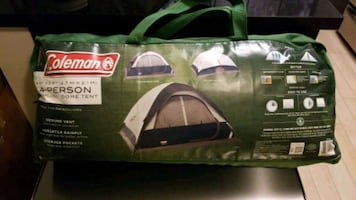 Coleman 4 person deluxe tent