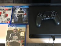 PS4 slim 1tb with games, 1 month old  New York, 11236