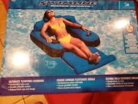 Luxurious foam pool float- unopened!  Houston