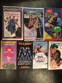 7 Kids Movies VHS Aurora, L4G 6R4