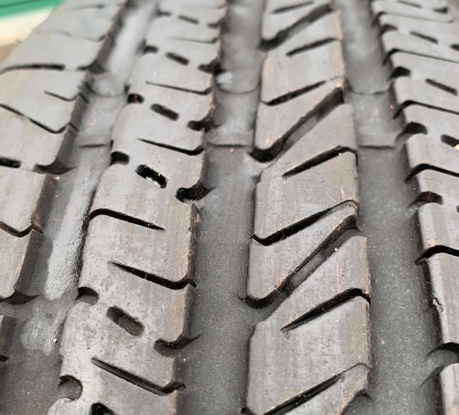Goodyear 205/60 R15 tire used. Good tread. Great spare. All season c264916f-d727-4d17-9e50-a8428e8e89f0