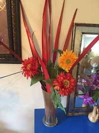 red and yellow petaled flowers HOUSTON