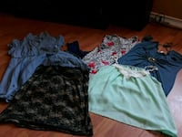 Namebrand womens xl lot 7$ for all 7 items  Omaha
