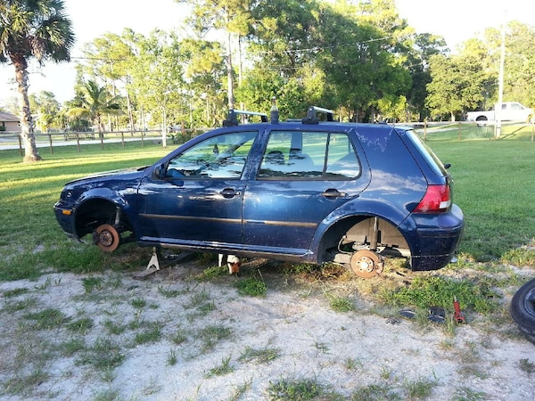 Used mk4 golf jetta vw partout for sale in Royal Palm Beach