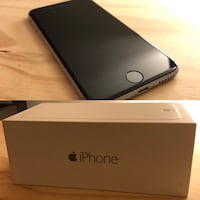 iPhone 6 128 GB (Used with Brand New Accessories, Excellent Condition) Space Grey Richmond, V6Y