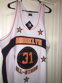 Brooklyn (NY) All-Stars Basketball Jersey.  Temecula, 92591