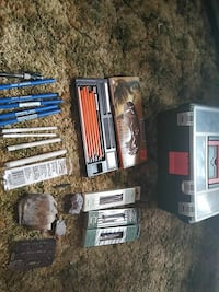 Charcoal drawing supplies and box Des Moines, 50316