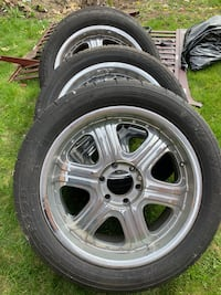Wanli S-1089 summer tires and rims 275 45/20 Newmarket, L3X 2H6