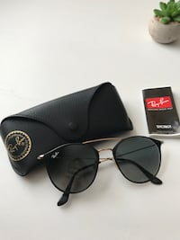 Black ray-ban aviator sunglasses with case Chicago, 60618