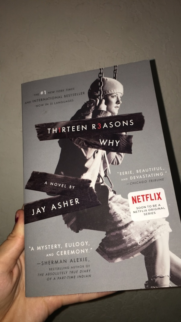 Used 13 Reasons Why Book For Sale In San Jose Letgo