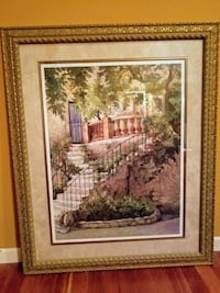 Courtyard in Provence by Roger Duvall Ballwin, 63011