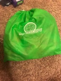 green and white Adidas backpack Memphis, 38133