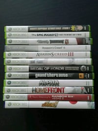 Xbox 360 Games  Mississauga