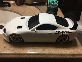 RC Racecar with turbo boost function
