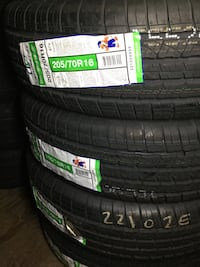 Set4 tires 205 70 16 Instaled balance ELMOFLES  Industry, 91746