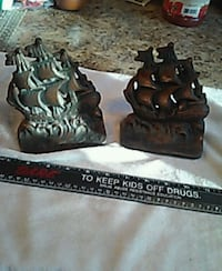 Iron bookends . can be used as door stops. Heavy... Old Bridge Township, 08857