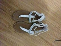 Montego Bay pair of white sandals Waldorf, 20602