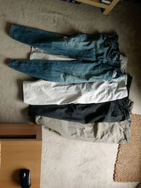 Free pants for fabric (or whatever)